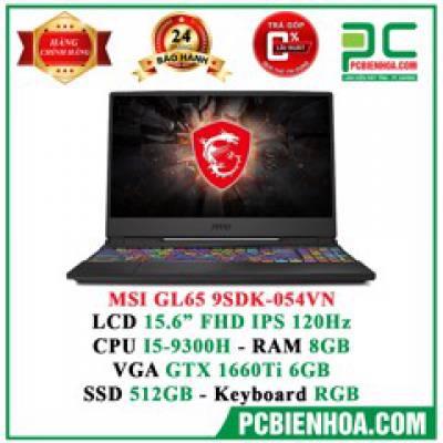 Laptop Gaming MSI GL65 9SDK-054VN